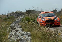 Simone Campedelli, Pietro Elia Ometto, Ford Fiesta R5, Orange 1