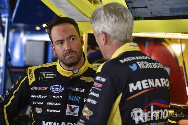 Paul Menard, Richard Childress Racing, Chevrolet; Matt Borland