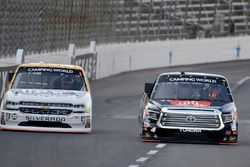 Christopher Bell, Kyle Busch Motorsports Toyota, Kaz Grala, GMS Racing Chevrolet