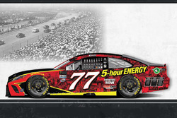 Throwback-Design: Erik Jones, Furniture Row Racing Toyota