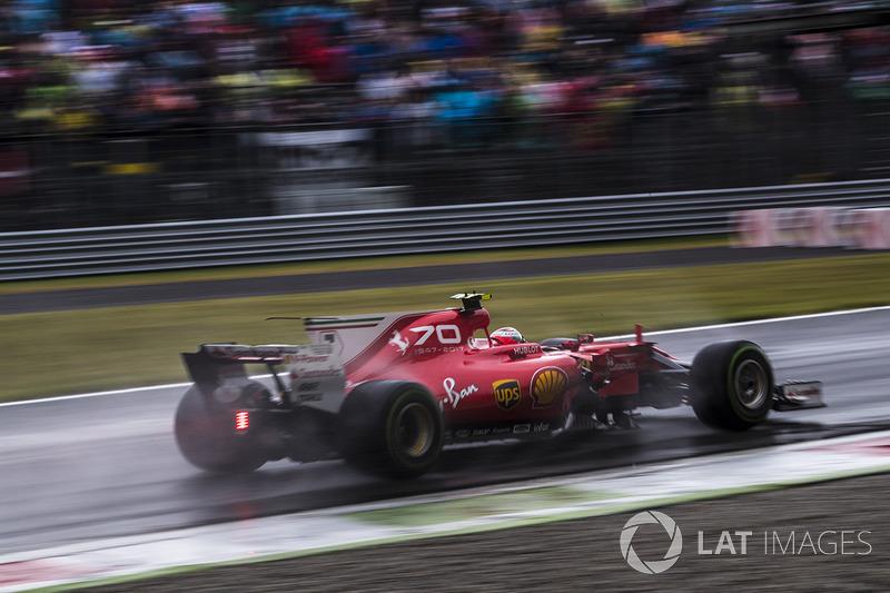 5: Kimi Raikkonen, Ferrari SF70H