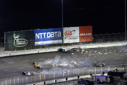 Ryan Hunter-Reay, Andretti Autosport Honda choque
