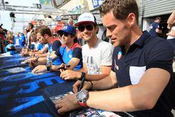 Julien Canal, Bruno Senna, Nicolas Prost, Vaillante Rebellion Racing