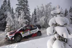 Juho Hanninen, Kaj Lindstrom, Toyota Yaris WRC, Toyota Racing
