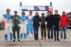 Bruno Senna, Vaillante Rebellion Racing, Mathias Lauda, Aston Martin Racing, Nicolas Prost, Nelson P