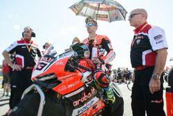 Marco Melandri, Ducati Team op de grid