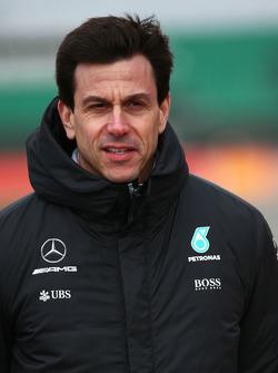 Тото Вольф, исполнительный директор Mercedes AMG F1