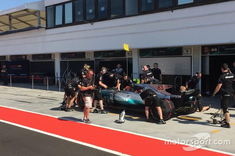 George Russell, Mercedes W08, Mercedes AMG F1