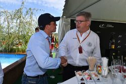 Alex Mea y Ross Brawn, Formula One Director de Motorsports