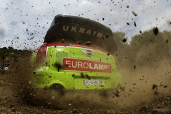Valeriy Gorban, Sergey Larens, Eurolamp World Rally Team, BMW-Mini Countryman WRC
