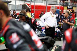 Росс Браун и владелец команды Haas F1 Джин Хаас