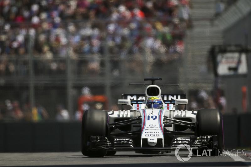 Já Felipe Massa teve participação breve. O brasileiro foi vítima de um enrosco entre Sainz e Grosjean, o que o fez abandonar em apenas três curvas.