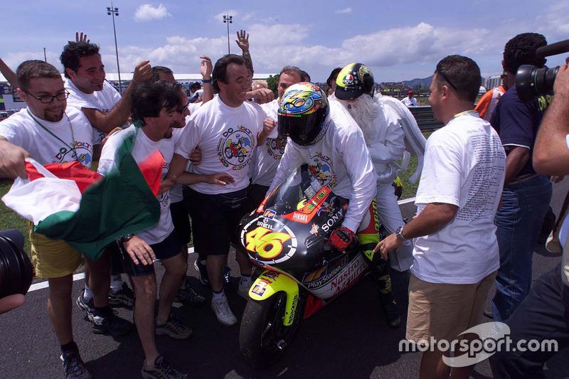 Rio 1999: 250er-Weltmeister und erneuter Klassenwechsel