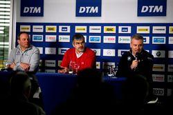 Руководитель команды Mercedes-AMG HWA Ульрих Фриц, глава DTM Audi Sport Дитер Гасс, директор BMW Mot