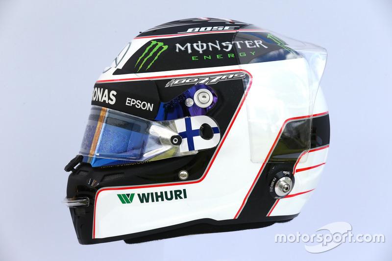 Helm von Valtteri Bottas, Mercedes AMG F1