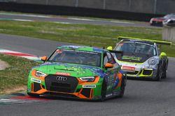 #115 Bonk Motorsport, Audi RS3 LMS TCR: Hermann Bock, Max Partl