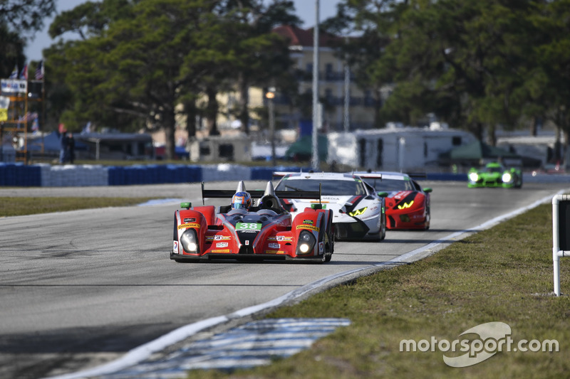#38 Performance Tech Motorsports ORECA FLM09: James French, Kyle Mason, Patricio O'Ward
