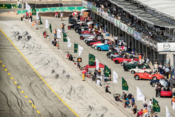 Group 5A, 1947-1955 Sports Racing and GT Cars, gets ready for the Rolex Race