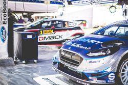 Ford Fiesta WRC Отта Тянака и Мартина Ярвеои, M-Sport