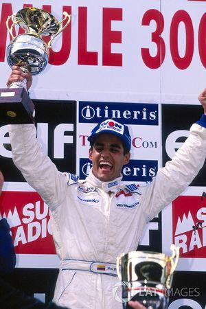 Podio: ganador Juan Pablo Montoya, RSM Marko