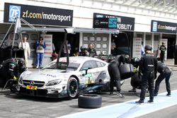 Arrêt au stand, Paul Di Resta, Mercedes-AMG Team HWA, Mercedes-AMG C63 DTM