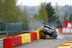 Crash, Jens Reno Møller, Reno Racing, Honda Civic TCR