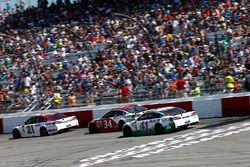Kurt Busch, Stewart-Haas Racing Ford Ryan Blaney, Wood Brothers Racing Ford