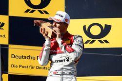 Podium: derde plaats Nico Müller, Audi Sport Team Abt Sportsline, Audi RS 5 DTM