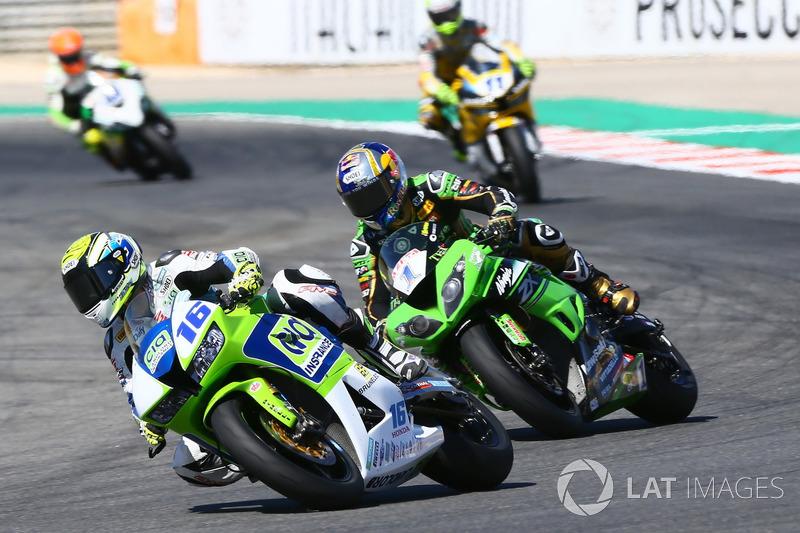 Jules Cluzel, CIA Landlord Insurance Honda, Kenan Sofuoglu, Kawasaki Puccetti Racing