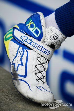 Shoes of Tony Kanaan, Chip Ganassi Racing Honda
