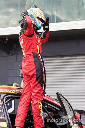 Race winner Chaz Mostert, Rod Nash Racing Ford