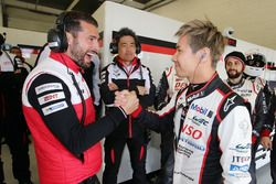Jose Maria Lopez and Kamui Kobayashi, Toyota Gazoo Racing