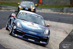 #301 Securtal Sorg Rennsport, Porsche Cayman GT4 CS: Stefan Beyer, Stefan Kenntemich, Oliver Bender,