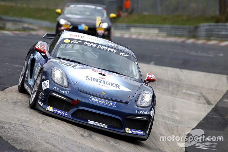 #301 Securtal Sorg Rennsport, Porsche Cayman GT4 CS: Stefan Beyer, Stefan Kenntemich, Oliver Bender, Christoph Hewer