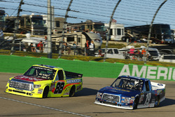 Matt Crafton, ThorSport Racing Toyota, Austin Cindric, Brad Keselowski Racing Ford