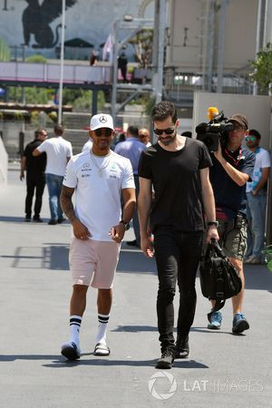 Lewis Hamilton, Mercedes AMG F1 and Marc Hynes