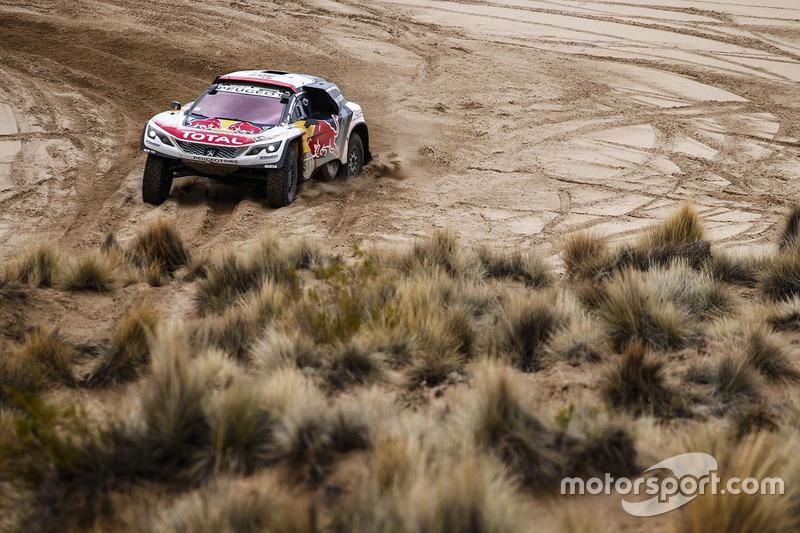 #307 Peugeot Sport Peugeot 3008 DKR : Cyril Despres, David Castera