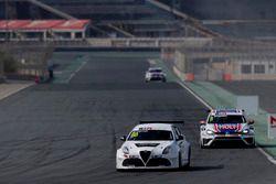 Michela Cerruti, Mulsanne Racing Alfa Romeo Giulietta TCR and Luca Engstler, Liqui Moly Team Engstler Volkswagen Golf GTI TCR