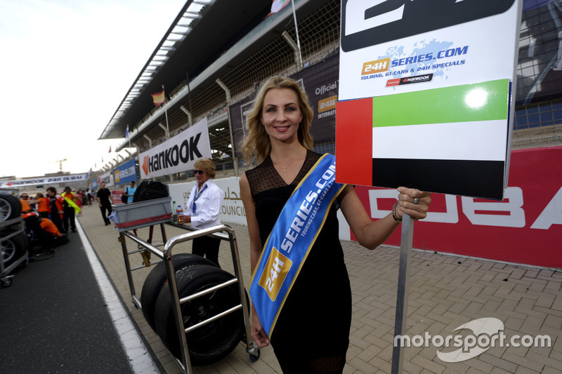 Grid girl of #28 GP Extreme Renault RS01 FGT3: Jordan Grogor, Louis Deletraz, Jean-Eric Vergne, Nicky Pastorelli