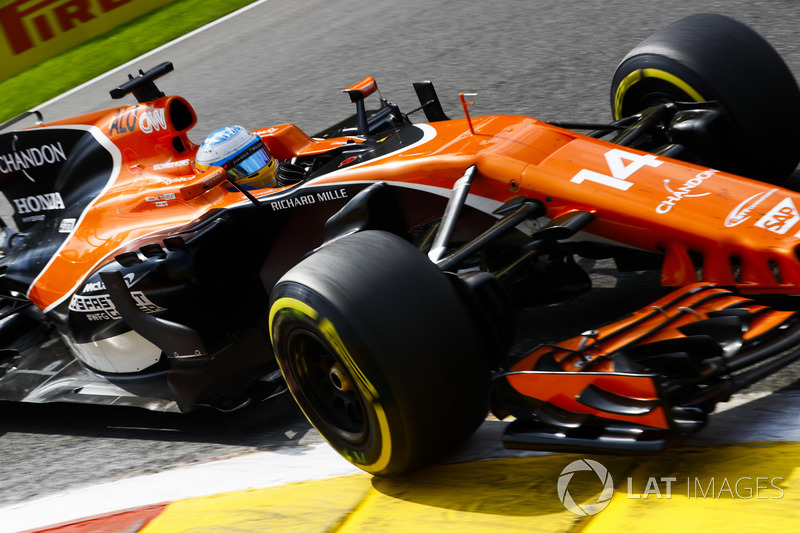 Fernando Alonso not happy with the McLaren car