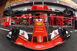 Ferrari SF70H, naso e ali anteriori