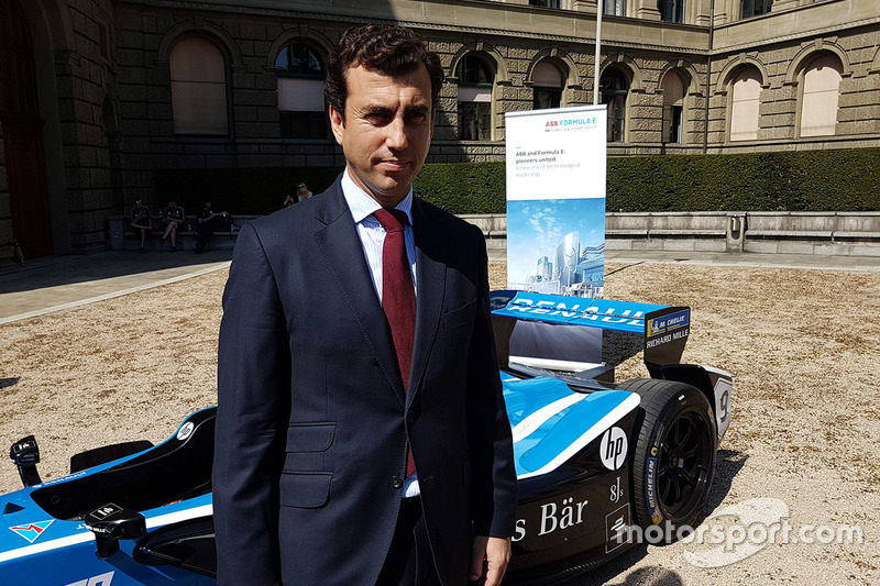 Alberto Longo, Co-Fondatore e Chief Championship Officer, Formula E Holdings