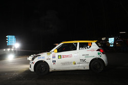 Simone Rivia, Niccolo Faettini, Suzuki Swift, Versilia Rally Team