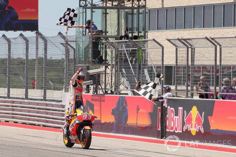 13. Gran Premio de las Américas 2018: Marc Marquez, Repsol Honda Team