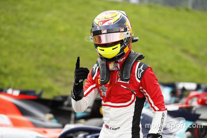 Callum Ilott a signé sa première pole position en GP3