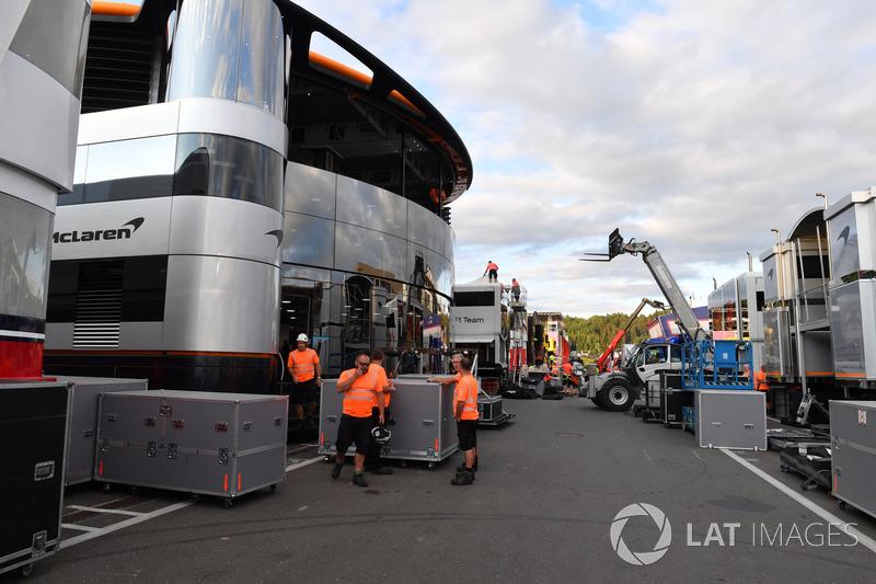 Carga de McLaren