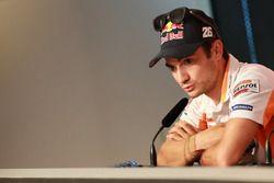 Press Conference, Dani Pedrosa, Repsol Honda Team
