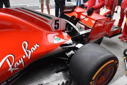 Заднее антикрыло Ferrari SF71H
