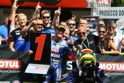 Sandro Cortese, Kallio Racing s'empare de la pole position