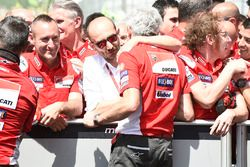 Domenicali, Gigi Dall'Igna, Ducati Team General Manager Italian MotoGP race 2018